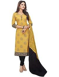Miraan Women's Cotton Dress Material