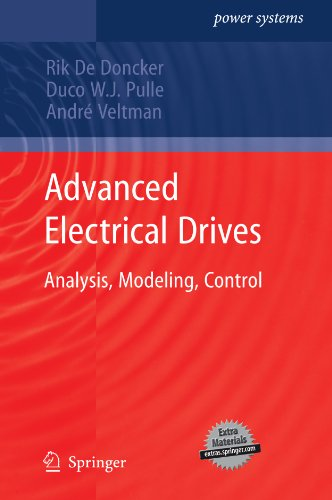 Advanced Electrical Drives: Analysis, Modeling, Control (Power Systems) (English Edition) -