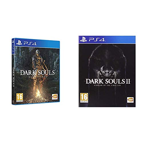 Dark Souls Remastered - PlayStation 4 + Dark Souls II: Scholar Of The First Sin - PlayStation 4