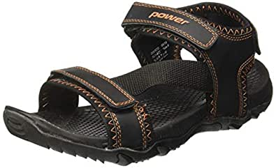 Power Men's Okami Brown Beach Thong Sandals-7 UK/India (41EU) (8614254)