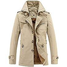 Tuta Uomo ASHOP Jacket Felpa Motociclista Giacca Giubbotto Elegante Caldo Invernale  Cappotto Outwear Top Colletto Alto 1587e51776d