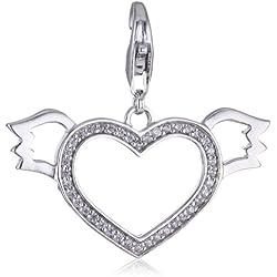 Esprit Damen-Anhänger Lovely Angel Xl ESCH90878A000