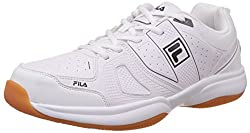 Fila Mens Novaro Lt White and Normal Tennis Shoes -10 UK/India (44 EU)