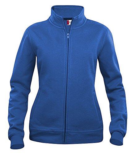 Damen Sweatshirt mit Reißverschluss/Zip Top. Seitliche Reißverschlusstaschen, i Pod/Handy Schlaufe. 7Farben inkl. Hi Viz, XS-XL Gr. xl, Blau - Königsblau
