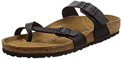 Birkenstock Mayari, Women's Sandals, Black (Schwarz), 4.5 Uk (37 Eu)