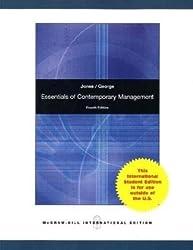 Essentials of Contemporary Management by Gareth R. Jones (2010-02-01)