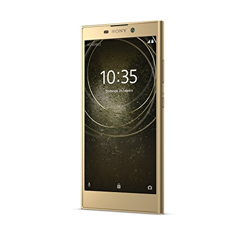 "Sony Xperia L2 - Smartphone de 5.5"" (Quad Core 1.45 GHz, RAM de 3 GB, Memoria Interna de 32 GB, cámara de 13 MP, Android), Color Oro"