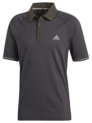 Adidas ClimaCool Athletic Raglan Polo Golf, Herren XXL Schwarz (Climacool Polo Golf)