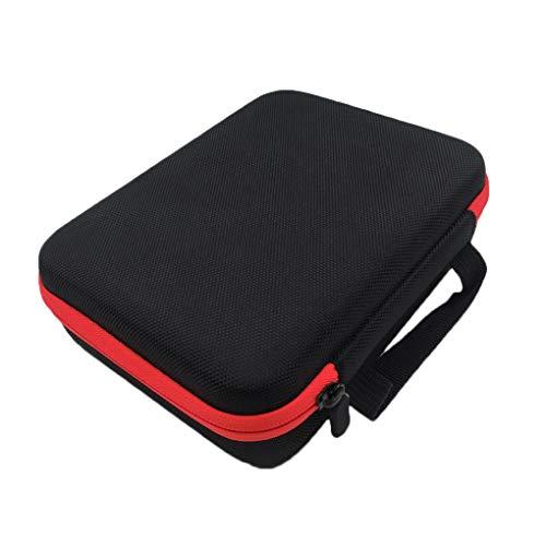 Reißverschluss-kasten (Kineca 63 Grid 1-3 ml Essence-Flaschen-Speicher-Beutel-bewegliche Ätherisches Öl-Beutel-Reißverschluss-Kasten-Luft-Befeuchter-Taschen-Tasche Red)