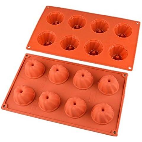 Torta stampo in silicone resistente al calore di cottura strumenti