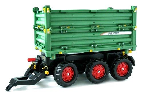 Rolly Toys Fendt rolly toys 125050 - rollyMulti Trailer Fendt - Dreiseitenkipper - Exklusivmodell für Fendt