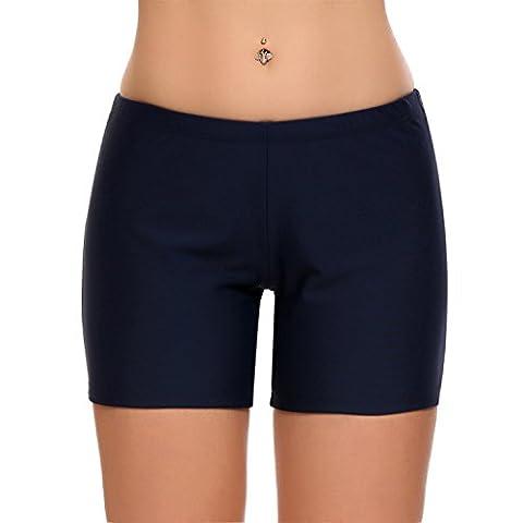 Damen Badehose Rüsche Design Badeanzüge Bikini Bottom Bikinihose Tanga Unterwäsche