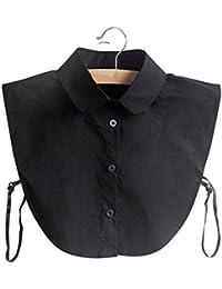 Hrph Collar de la muñeca de la manera Camisa falso de la media falsificación de las