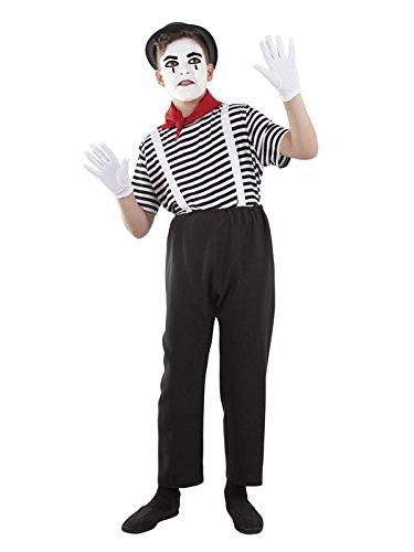 Imagen de disfraz de mimo infantil  único, 9 a 11 años