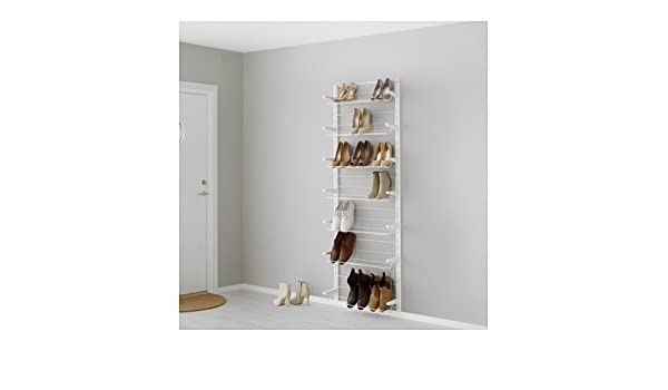 Ikea algot wandschiene schuhaufbewahrung aufbewahrungssystem; in