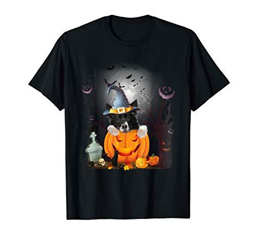 Border Collie Kostüm - Border Collie Dog Tee Shirt Halloween