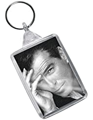 PIERCE BROSNAN - Original Art Keyring #js003