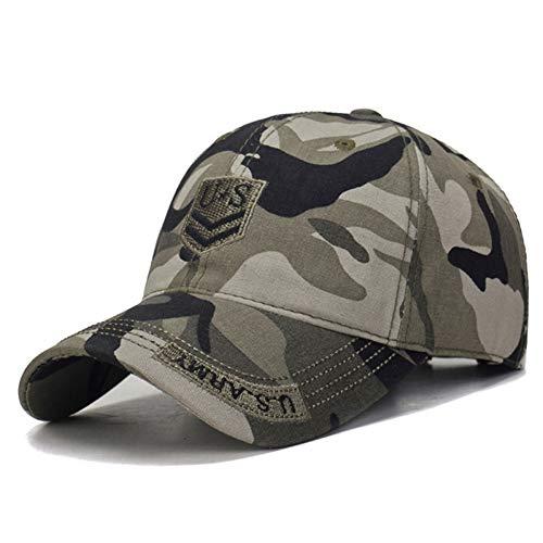 d2a1a9d43 SYQY Gorra de Beisbol Hombres US Army Baseball Cap Hombres Camo Homme  Mujeres Camuflaje Cap Tactical Cap Trucker,C3