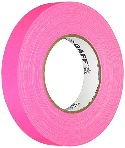 Pro cintas pro-gaff-neon Premium fluorescente gaffers cinta, Rosa
