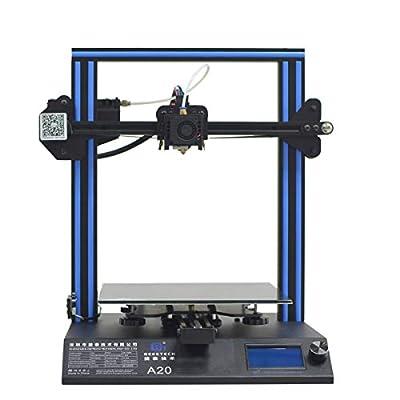 GIANTARM Geeetech A20 3D Drucker mit Grossem Bauraum: 255 * 255 * 255mm³ und Power Failure Recovery, Gute Haftung auf dem Druckbett, Schnelle Montage DIY Kit.