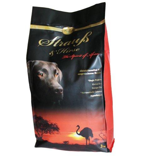 Schecker Dogreform Strauß und Hirse Premium Trockenfutter Hundefutter für den adulten Hund