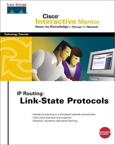 CIM IP Routing Link-State Protocols (Network Simulator CD-ROM) (Cisco Interactive Mentor) por Systems Inc Cisco