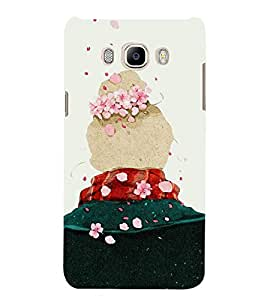 Fuson Designer Back Case Cover for Samsung Galaxy J5 (6) 2016 :: Samsung Galaxy J5 2016 J510F :: Samsung Galaxy J5 2016 J510Fn J510G J510Y J510M :: Samsung Galaxy J5 Duos 2016 (Beautiful Girl Stunning Pretty Lovely Cute)