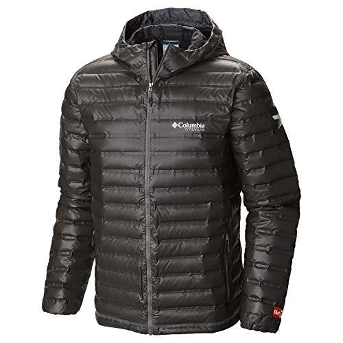 Columbia Outdry EX Gold Down Hooded Jacket Men Black Größe L 2018 Funktionsjacke