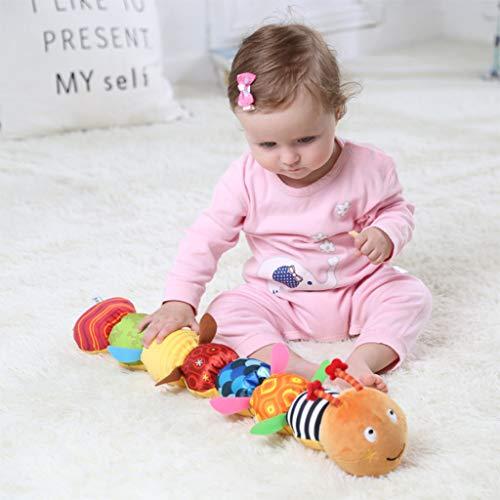 Bildung,TwoCC Tier Windung Musikalische Spielzeug Rassel Weiche Mit Ring Glocke Kleinkind Plüsch Spielzeug -