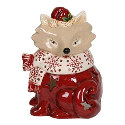 Village Candle FOX portavelas para velas de té FOX grabadora de soporte para vela de Navidad