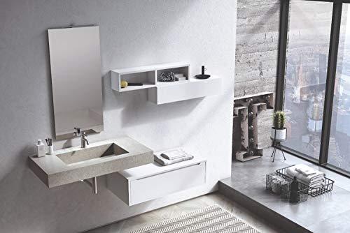 ᐅ pensile bagno bianco opaco al prezzo migliore ᐅ casa migliore