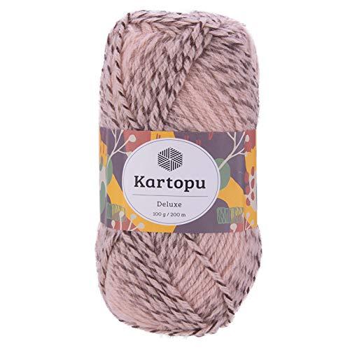 maDDma ® 100g Strickgarn Kartopu Deluxe Strick-Garn Häkelgarn Mischgarn, Farbwahl, Farbe:MU00686