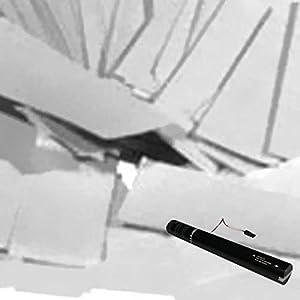 White Electric Confetti Cannon 40cm