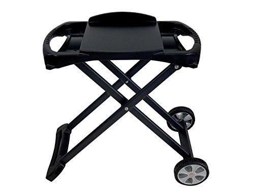 Traedgard® Trolley für mobile Tischgasgrills, klappbar mit Rollen, 66429