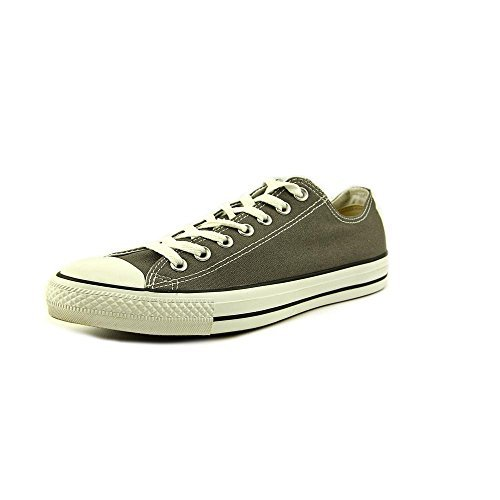 Converse Men's All Star Chuck Taylor Lo Top Oxfords Charcoal 10 D(M) US Chuck Taylor Oxford