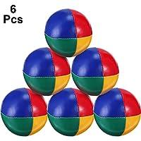 Durevole Palle Giocoliere Kit Giocoleria Palle Set per Principianti,9 Pezzi Mini Giocoleria Palle di Juggle Morbido Facile Giocoliere Palle Soft Classic Juggle Balls per Ragazzi Ragazze e Adulti