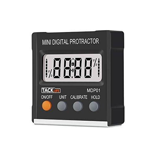 Tacklife MDP01 Klassischer Digitaler Winkelmesser Neigungsmesser Wasserwaagemit Magnet
