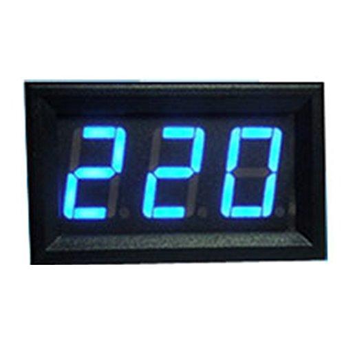 Voltmeter Tester, woopower AC 70–500V Digital Voltmeter LED Display Panel 2Draht Volt Voltage Test Meter