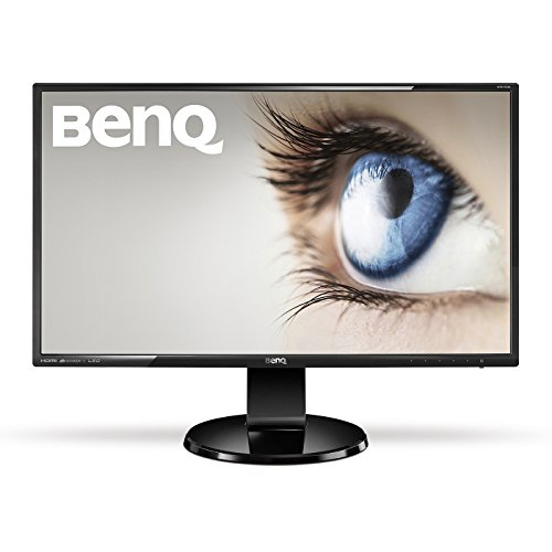 BenQ GW2760HS LED VA Panel 27 inch Widescreen Multimedia Monitor (1920 x 1080, DVI, HDMI, Speakers, 20M:1, 4 ms GTG with Thin Bezel) - Glossy Black