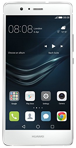 Huawei P9 Lite Smartphone, LTE, Display 5.2'' FHD, Processore Octa-Core Kirin 650, 16 GB Memoria Interna, 3GB RAM, Fotocamera 13 MP, Single-SIM, Android 6.0 Marshmallow, Bianco [Italia]