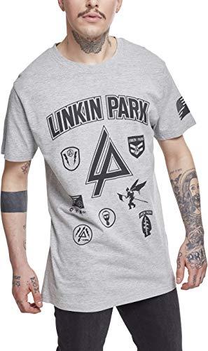 MERCHCODE Merch Código Hombre Linkin Park Parches...
