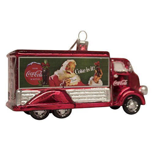 Kurt Adler Coca-Cola Glas-Truck-Ornament, 12,7 cm -
