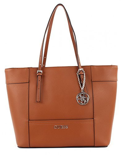 GUESS HWEY45 35230 - Bolso para mujer, color marrón, talla Única