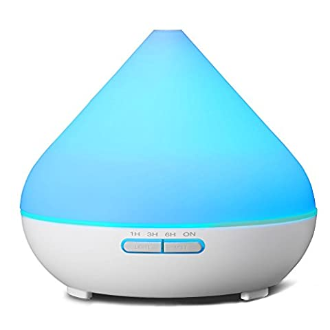 DSRAY 300ml Colorful Ultrasonic Aroma Diffuser Aromatherapy Essential oil Diffuser