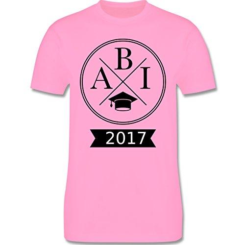 Abi & Abschluss - Abi 2017 Hipster X - Herren Premium T-Shirt Rosa