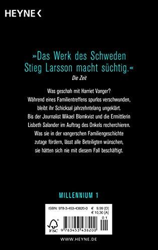 Verblendung: Die Millennium-Trilogie 1 - Roman: Alle Infos bei Amazon