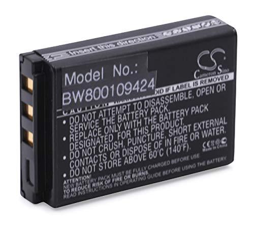 vhbw Li-ION Batterie 1600mAh (3.7V) pour Netbook Pad Tablette Wacom Intuos4 Wireless, PTK-540WL comme 1UF102350P-WCM-03, ACK-40203, XLA-C330.