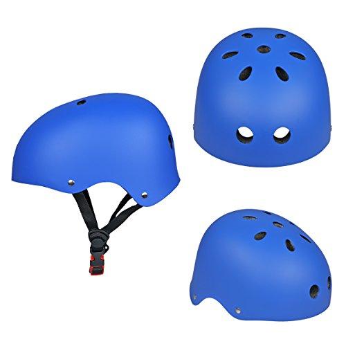 Verbesserung SymbolLife Skate / BMX Helm, Skateboarding Helmet Motorroller Helm fahrradhelm mit Drehrad-Anpassungs Systeme geeignet für Kinder / Jugendlicher / Erwachsenen CE Zulassung