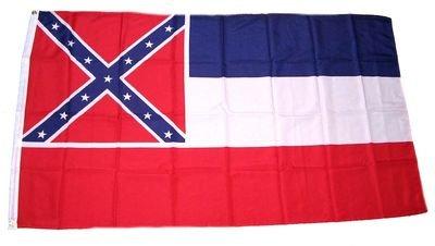 Fahne / Flagge USA Mississippi NEU 90 x 150 cm Flaggen (Confederate Flag)