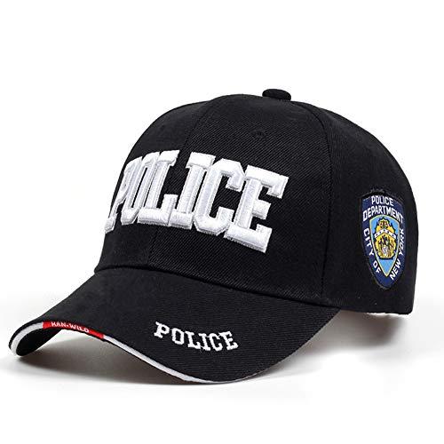 JKYJYJ Nueva Policía Hombre Gorra Táctica Swat Gorra